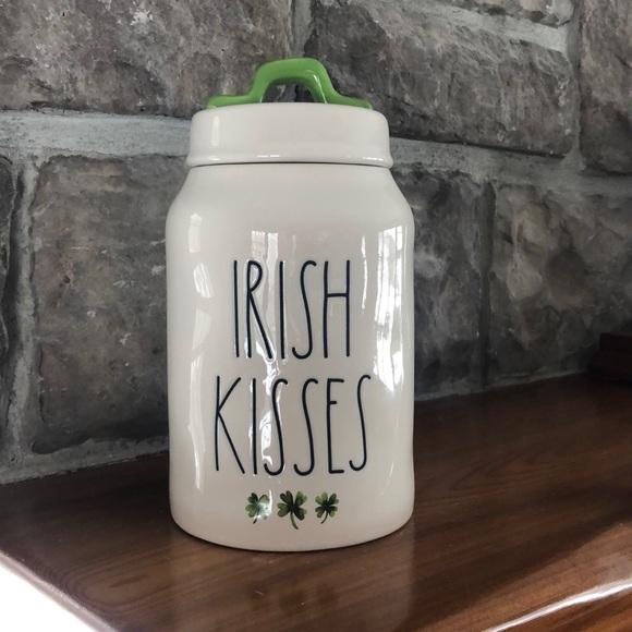 Rae Dunn Irish Kisses Canister